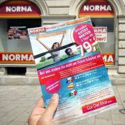 Die Nummer fünf auf dem deutschen Discount-Markt: Die Nürnberger Kette Norma.