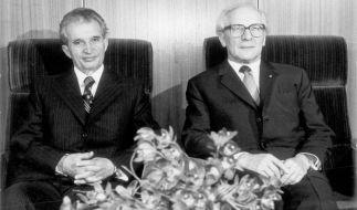 Rümäniens Diktator Nicolae Ceausescu (Foto)