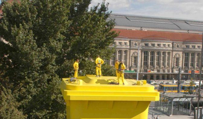 Gelbe Tonne Plus (Foto)