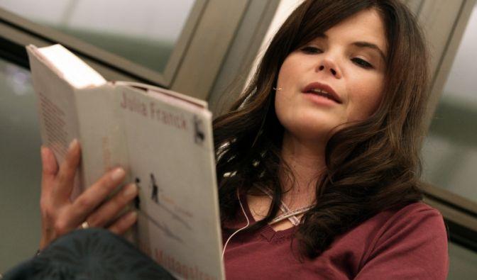 Bücher sorgen für Ruhe.