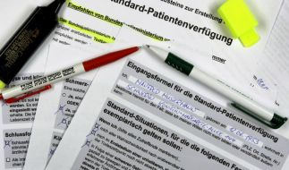 Patientenverfügung (Foto)