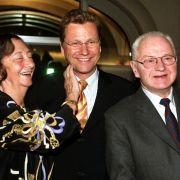 Guido Westerwelle mit seinen Eltern