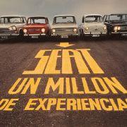Der Seat 600, ein Lizenz-Nachbau des Fiat 600, kommt in Spanien 1957 auf den Markt.