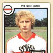Guido Buchwald im Trikot seines VfB Stuttgart. Für den jungen Mittelfeldspieler lief das Europameisterschafts-Turnier 1984 dürftig.