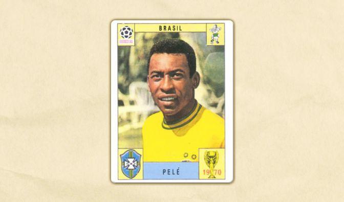 Schon zur Weltmeisterschaft 1970 in Mexiko gab es die Superstars als Panini-Bild.
