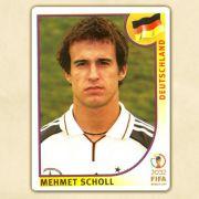 Mehmet Scholl als Panini-Bildchen zur Weltmeisterschaft 2002 in Japan und Südkorea.