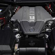 Immer noch der King of Sound: der Motor im Mercedes-Benz SLS AMG.