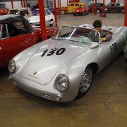 Trauriges Vehikel: Der Porsche 550 Spyder brachte es mit James Dean am Steuer zu makabrer Berühmtheit.
