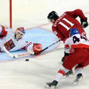 Topbegegnung in der Zwischenrunde: Tschechien gegen Kanada.