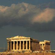 Die Akropolis in Athen.