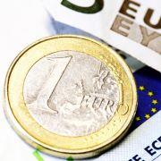 Der Euro ist in Bedrängnis.