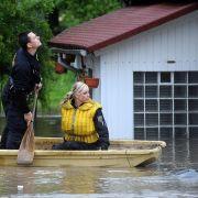 Auch Teile Tschechiens standen unter Wasser.