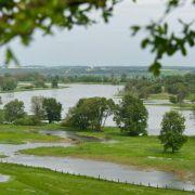 In Brandenburg wird am Freitag die erste Hochwasserwelle der Oder erwartet.