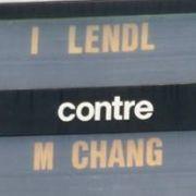 Chang gegen Lendl
