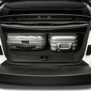 Das Dach kostet den Kofferraum viel Platz. Für Gepäck bleiben 211 Liter Raum übrig.