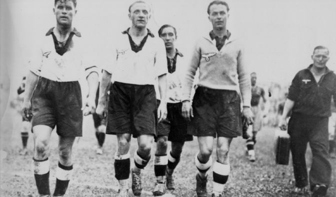 Kapitän bei den WM's 1934 und 1938: Fritz Szepan.