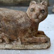 Das ändert aber nichts daran, dass die Ägypter die Katze verehrten und ihre Göttin Bastet meist als dieses Tier darstellten.