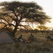Katharina Abt und Walter Sittler im Film Auftrag in Afrika.