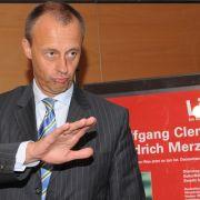 Ex-Fraktionschef Friedrich Merz (CDU)