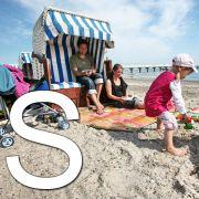 ... wie Sand und Strand. Wenn es hier gar nichts wird mit dem Sommer, hilft eben nur der Urlaubsflieger ans Mittelmeer. Hauptsache, es kommt keine Aschewolke dazwischen.