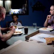 Romantik beim Pizza-Essen: Olivia und Will.