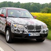 Der X3 wird der erste BMW sein, der serienmäßig in allen Motor- und Getriebevarianten über eine serienmäßige Start-Stopp-Automatik verfügt.