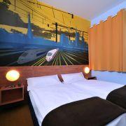 Im Zeichen des Pops: Knallige Farben, freche Wandmalereien und modernes Design stehen für den individuellen Look der einzelnen BB Hotels - wie hier in Saarbrücken.
