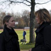 Ines Björg David spielt die neue Kollegin Julia Brandl.