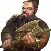 Dieser etwas grimmig dreinblickende Kollege ist eine der diversen Figuren, die das Strategiespiel den Spielern als Charaktere an die Hand gibt.