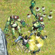 In Sachen Gegner haben die Entwickler des Strategiespiels vor allem auf Fantasy-Gestalten gesetzt.