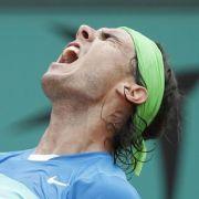 Nach 2:18 Stunden verwandelte Nadal den ersten Matchball.