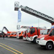 Etwa 1.000 Aussteller präsentieren Neuheiten in den Bereichen Rettung, Brand- und Katastrophenschutz sowie Sicherheit.