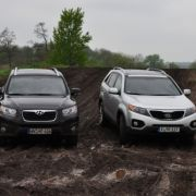Der Kia Sorento punktet allerdings mit Berganfahrhilfe und Bergabfahrhilfe.