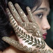 Die Kunst der Henna-Bemalungen ist nicht mehr nur in Indien beliebt.