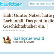 Der Twitter-Nutzer Bastigruenwald bringt die erste Überraschung der WM auf den Punkt.