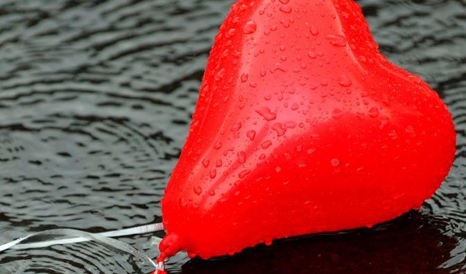 Luftballon fürs Blasen (Foto)