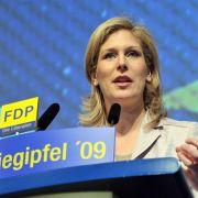 Die FDP-Politikerin Silvana Koch-Mehrin ist das hübsche Aushängeschild ihrer Partei.