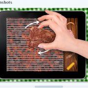 Die Ekel-Apps lassen wir nun hinter uns und kommen zu den wirklich unwichtigsten iPhone-Anwendungen aller Zeiten: Den Anfang macht der Grill Simulator. Ziel ist es das virtuelle Grillgut möglichst professionell auf dem Display umherzuschubsen.