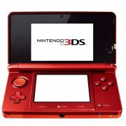 So sieht Nintendos neuer Handheld 3DS in rot aus.