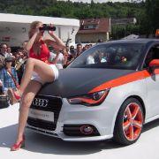 Audi hält nach neuen Kunden Ausschau: Der A1 wird neue Zielgruppen bringen - jung, urban, Lifestyle-orientiert, glaubt Produktmanager Peter Hirschfeld.