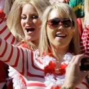Exotisches aus dem Norden in Südafrika: eine Blondinen-Invasion aus Dänemark.