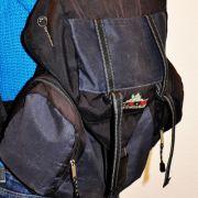 Isabelle hat einen großen, funktionalen Rucksack. Sie gehört laut der Handtaschentherapeutin zum Typ VIP Mommy.