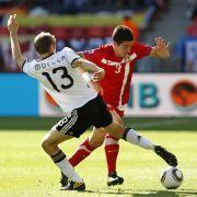 Thomas Müller: Auch er konnte seine Leistung vom Australien-Spiel nicht bestätigen.