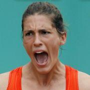 Sie ist nach dem Ausfall von Sabine Lisicki die deutsche Hoffnungsträgerin: Andrea Petkovic.