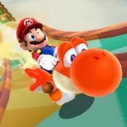 War der nicht eben noch grün? Richtig. Doch wie Mario auch kann Yoshi spezielle Fähigkeiten einsammeln und nutzen.