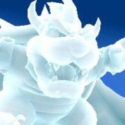 Das freut Mario-Jünger: Fieslingechse Bowser auf Eis gelegt.