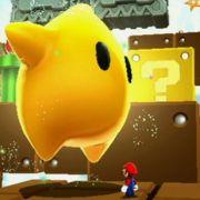 Ein Riesen-Luma. Die Sterne sind ständige Begleiter bei Marios intergalaktischen Reise.