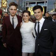 Robert Patterson, Taylor Lautner und Kristen Stewart