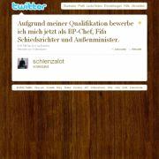 Tweet von @schlenzalot.
