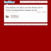 Tweet von @SGMaus.